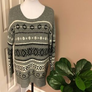 American Eagle Outfitters Wool Blend NordicSweater